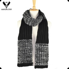 Men′s Fashion Twisted Yarn Thick Twist Knit Scarf