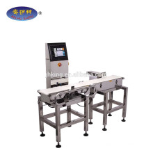 Touch screen automatic weighing machine ship to Austria