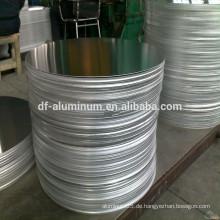 China fertigt Aluminium Kreis für Druck Kochgeschirr