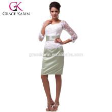 Grace Karin espalda encaje madre de la novia vestido de fiesta CL6067