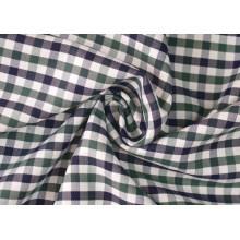 Oliver/Marina cheques Sarga camisas de tejido de poliéster de algodón 40 60
