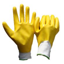 NMSAFETY gisement de pétrole entièrement enduit gants de travail de main en nitrile