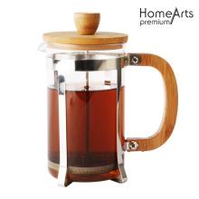 Émbolo de vidrio para té y café