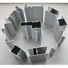 Perfis de alumínio 6005 tratamento de superfície diferente (HF016)