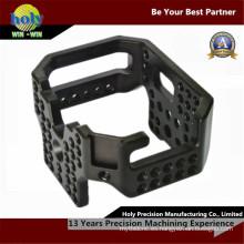 Mecanizado fotográfico que trabaja a máquina del CNC del CNC de encargo que trabaja a máquina aluminio del CNC