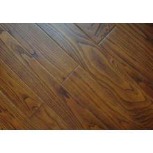 Suelo de madera de la madera de la teca del precio bajo de la fábrica de Dongguan