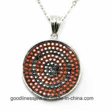 Special Design and Generous Style Jewelry Pendant Making New Design Round Pendant P4979