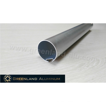 Perfil de Aluminio para Cortinas Horizontales Tubo de Cabeza 40mm Plata Anodizado