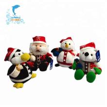 Персонализированная мягкая плюшевая рождественская игрушка на заказ
