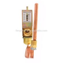 Клапан контроля температуры воды, используемый в холодильном оборудовании