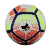 PU couro barato colorido tamanho 5 laminado bola de futebol