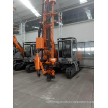 crawler Mounted tunnel Drilling Rig machine drill
