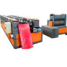 Marco de puerta de garaje Persianas enrollables Panel frío Máquina formadora de rollos
