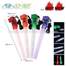 Lumière LED clignotant multifonction avec sifflet