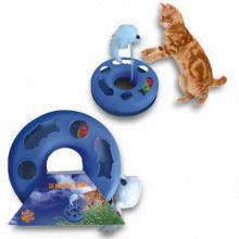 Cheap Plastic Cat Toy, Moving Toy Cat (YT68987)