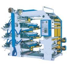 Impressora de letras flexíveis de quatro cores