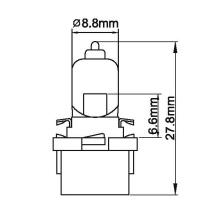 Lâmpadas de luz do painel de instrumentos / A45V