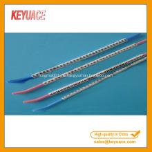 Marcadores de cables plásticos de color blanco tipo N