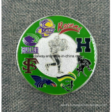 Fabricant Maker Custom Métal / Antique / Souvenir / Or / Militaire / Argent Coin Challenge Coin avec Logo Pas de Minimum