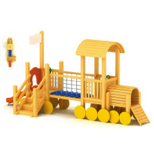 Best Selling Kids Wooden Outdoor Playground (YQL-9102A)
