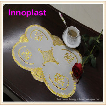 PVC Gold/Silver Lace Placemat (JFCD-032)