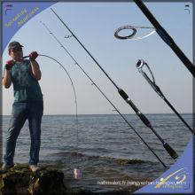 SPR130 Populaire pêche chinoise attaquer SRF Nano carbone filature canne à pêche