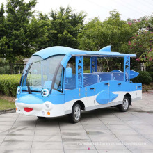 China Fabricantes de Quatorze Assentos Portador de Passageiros Elétricos (DN-14)