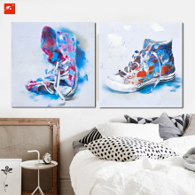 Sneaker Shoes Wall Art Poster Canvas Painting