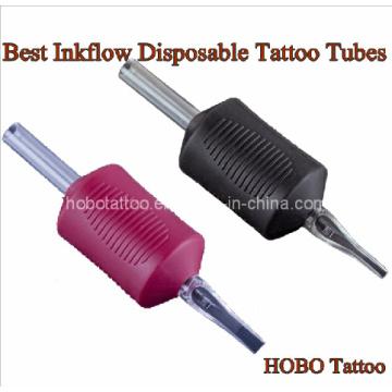 Premium-Inkflow Einweg Tattoo Griffe mit Tattoo-Rohre
