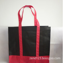 Zend Black with Red Printing Nonwoven Bag (LP-26)