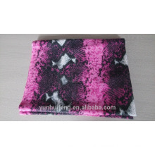Mongolian spring printed pashmina scarf