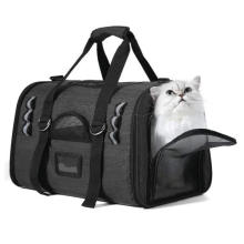 Pet Carrier for Cats Dogs Puppy with Airline Approved Soft Sided Pet Tote Carriers Bags Portable Pet Supply Carrier