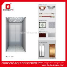 Pequeno, residencial, elevador, pequeno, vila, elevador