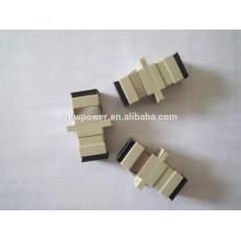 Низкоуглеводный волоконно-оптический адаптер SC Simplex UPC, изготовленный в Китае
