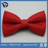 OEM promotional classical custom 100% Polyester Bow Tie