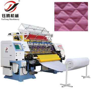 Alta velocidade computarizado ponto de bloqueio multi-agulha Quilting máquina YGB64-2-3