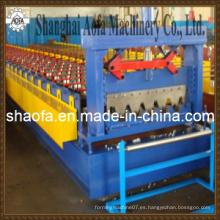 Nuevo tipo de suelo de la cubierta que hace el rodillo que forma la máquina (AF-D850)