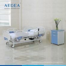 Компания AG-BY101 три функции регулируемая медицинская Больничная электрическая кровать ухода