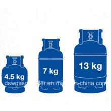 GB Standard Professional Supplying 5kg LPG Cylinder