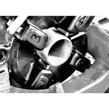 """Cabeça de rolamento de rosca de tubo de Hongli para 2 """"3"""" 4 """"tubo"""