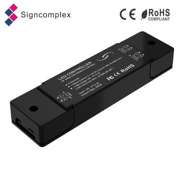 Nouveau contrôleur de groupement sans fil de la couleur unie / W + Ww / RGB 2.4G LED avec Ce RoHS FCC