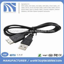 NOUVEAU Câble d'extension USB Câble femelle 75 cm Longueur 30 pouces