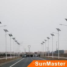Réverbère de l'énergie solaire LED de rendement élevé d'alliage d'aluminium de 100W,