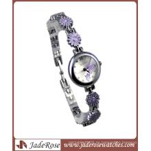 Reloj de pulsera de cuarzo de mujer fina con promocional