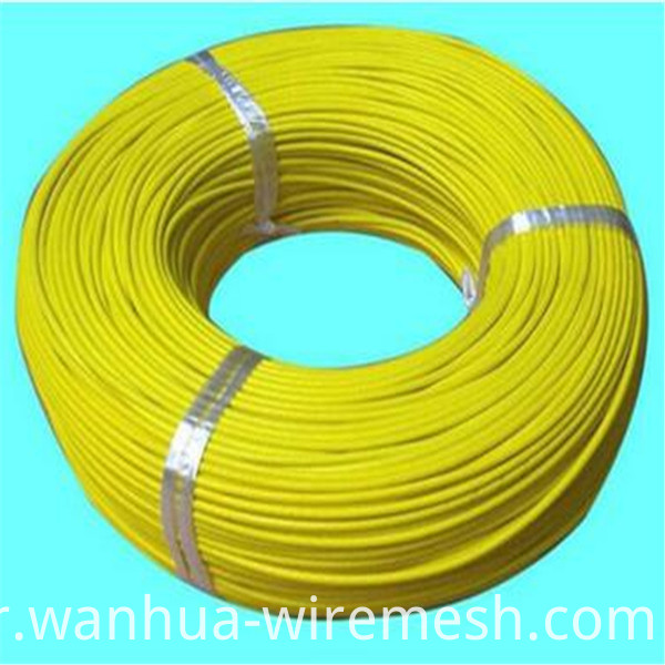 2mm PVC coated galvanized iron wire (2)