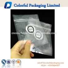 2015 Plastiktasche mit Reißverschluss für Sonnenbrillen / Dokumente mit Logo-Druck