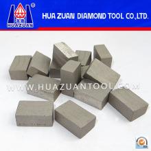 Алмазный сегмент для резки шлифовального блока (HZ-314)