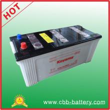 Batería seca N150 del camión de la batería de la carga 150AH 12V de la fábrica de China