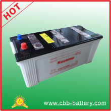 China Factory 150ah 12V Dry Charge Battery Truck Battery N150