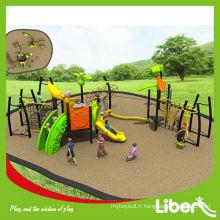 Playsets en plein air, structure de parc d'attractions Aire de jeux